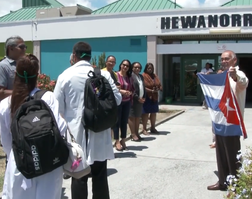Government of Saint Lucia welcomes Cuban medical team
